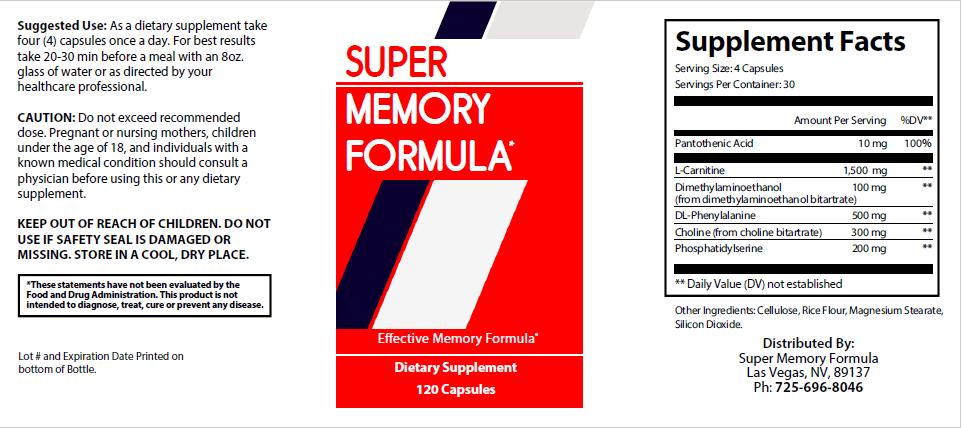 Super Memory Formula Review - Does Super Memory Formula Work?