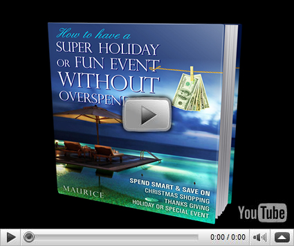 Holiday & Event Money Saving Tips Review By Maurice Collins